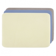 Kralen mat 23x30cm Beadalon 3-pack Yellow, Blue, Beige