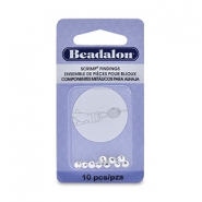 Scrimps 4.5mm Beadalon Silver