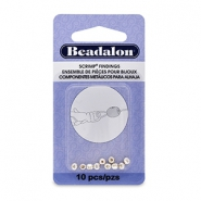 Scrimps ovaal 3.5mm Beadalon Silver