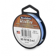 Wildfire wire Beadalon 0.20mm Blue