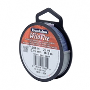 Wildfire wire Beadalon 0.15mm Blue