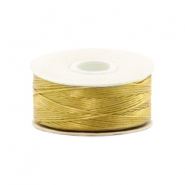 Nymo wire Beadalon 0.3mm Gold