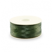 Nymo wire Beadalon 0.3mm Olive Green