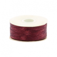 Nymo wire Beadalon 0.3mm Burgundy Red