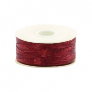 Nymo wire Beadalon 0.3mm Shoe Red