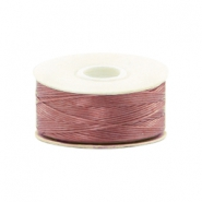 Nymo wire Beadalon 0.3mm Dusty Mauve