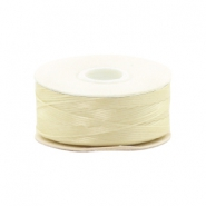 Nymo wire Beadalon 0.3mm Cream White