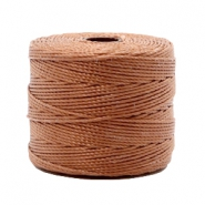 Nylon S-Lon rijgdraad 0.6mm Copper brown