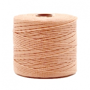 Nylon S-Lon rijgdraad 0.6mm Vintage rose brown