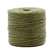 Nylon S-Lon rijgdraad 0.6mm Olive green