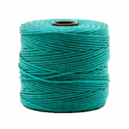 Nylon S-Lon rijgdraad 0.6mm Teal green
