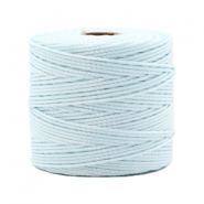 Nylon S-Lon rijgdraad 0.6mm Soft sky blue