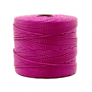 Nylon S-Lon rijgdraad 0.6mm Magenta purple