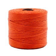 Nylon S-Lon rijgdraad 0.6mm Dusty red-orange