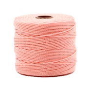 Nylon S-Lon rijgdraad 0.6mm Candy pink