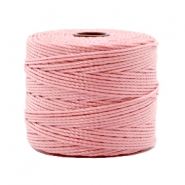 Nylon S-Lon rijgdraad 0.6mm Vintage rose
