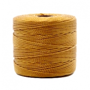 Nylon S-Lon rijgdraad 0.6mm Golden brown