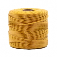 Nylon S-Lon rijgdraad 0.6mm Golden yellow