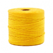 Nylon S-Lon rijgdraad 0.6mm Sunflower yellow