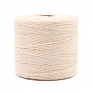 Nylon S-Lon rijgdraad 0.6mm Light beige