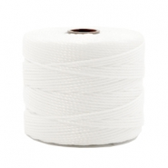 Nylon S-Lon rijgdraad 0.6mm White