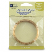 Artistic Wire 14 Gauge Tarnish resistant brass