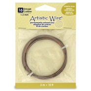 Artistic Wire 16 Gauge Antique brass