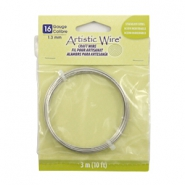 Artistic Wire 16 Gauge Stainless steel