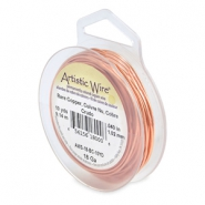 Artistic Wire 18 Gauge Bare copper