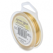 Artistic Wire 22 Gauge Tarnish resistant brass