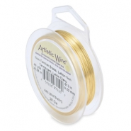 Artistic Wire 28 Gauge Tarnish resistant brass