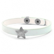 Hippe armbanden stud star Pastel turquoise green
