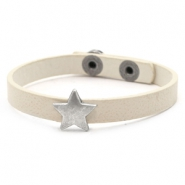 Hippe armbanden stud star Off white