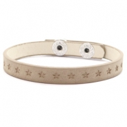 Hippe armbanden stars Country brown