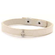 Hippe armbanden stud anchor Off white