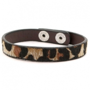 Hippe armbanden leopard Brown