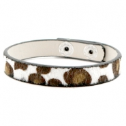 Hippe armbanden leopard Off white