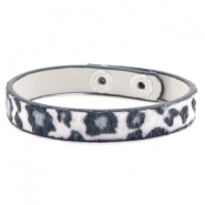 Hippe armbanden leopard White
