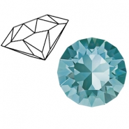 Swarovski Elements puntstenen 1088-SS 39 (8mm) Light turquoise