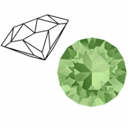 Swarovski Elements puntstenen 1088-SS 39 (8mm) Peridot green