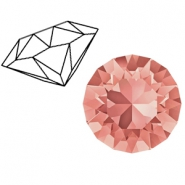 Swarovski Elements puntstenen 1088-SS 39 (8mm) Rose peach