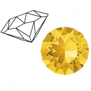 Swarovski Elements puntstenen 1088-SS 39 (8mm) Light Topaz