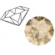 Swarovski Elements puntstenen 1088-SS 29 (6.2mm) Light silk beige