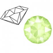 Swarovski Elements puntstenen 1088-SS 39 (8mm) Crystal lime green