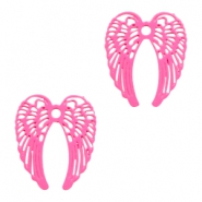 Bohemian hanger angel wings Pink
