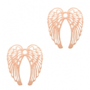 Bohemian hanger angel wings Rosegold