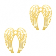 Bohemian hanger angel wings Goud