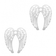Bohemian hanger angel wings Zilver