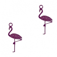 Bohemian hanger flamingo Dark purple