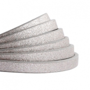 5 mm plat imi leer Metallic-medium grey